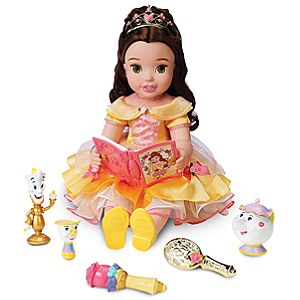 Disney Princess Singing and Storytelling Belle Doll -- 20'' H
