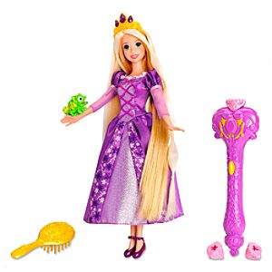 Enchanted Hair Rapunzel Doll by Mattel -- 12 H