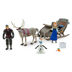 Anna & Kristoff Sleigh Play Set - Frozen