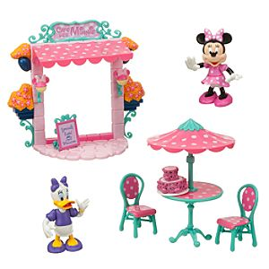 Minnie Mouse Paris Cafe Play Set