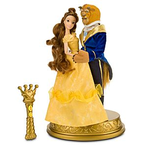 Beauty and the Beast Remote Control Dancing Doll Set -- 2-Pc