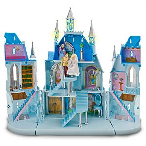Magical Cinderella Castle Play Set -- 16-Pc.