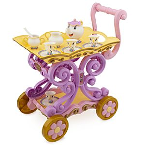 Mrs. Potts and Chip Tea Cart