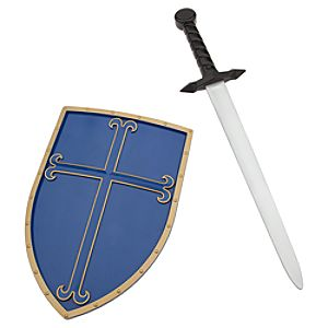 Prince Phillip Sword and Shield Set - Sleeping Beauty