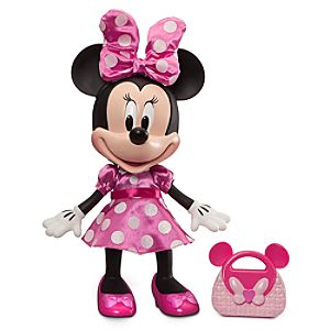 Minnie Mouse Talking Fashion Figure - 13''