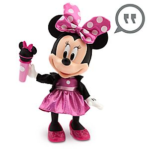 Minnie Mouse Talking and Singing Pop Star Doll - 13''