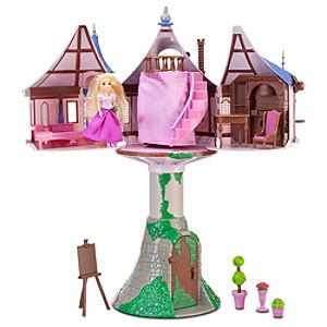 Tangled Rapunzel Tower Play Set -- 18-Pc.
