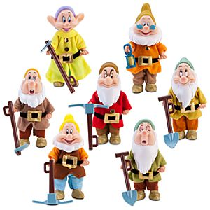 Seven Dwarfs Doll Set -- 7-Pc.