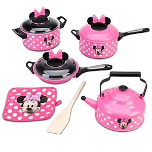 Minnie Mouse Cooking Play Set -- 9-Pc.