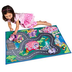 Minnie & Daisy Play Mat & Vehicles Play Set