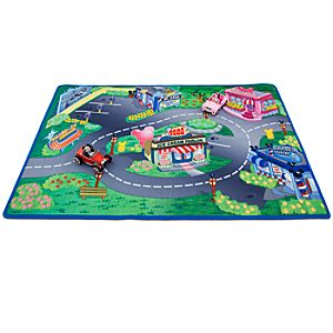 Minnie & Mickey Play Mat & Vehicles Play Set -- 3-Pc.