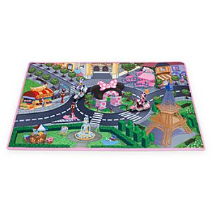 Minnie Mouse and Daisy Paris Play Mat & Vehicles Play Set
