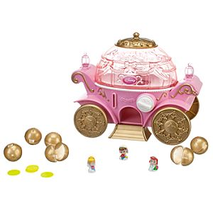 Disney Princess Coach Squinkies Dispenser Set