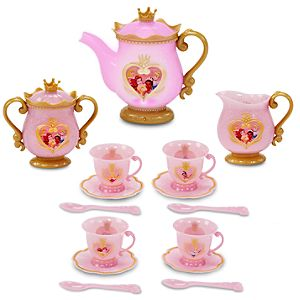 Light-Up Disney Princess Tea Set -- 15-Pc.