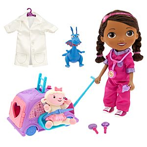 Doc McStuffins Walk n Talk Doll and Doc Mobile Play Set