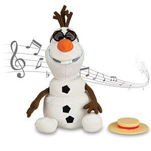 Olaf Singing Plush - Frozen - Medium - 10 1/2''