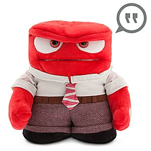 Anger Animated Talking Plush - Inside Out - 9''