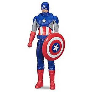 Captain America Action Figure - Marvel Titan Hero Series - 12