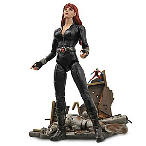 Black Widow Action Figure – Marvel Select – 6 3/4""