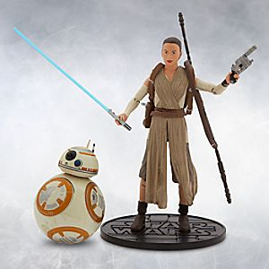 Rey and BB-8 Elite Series Die Cast Action Figures - 6 - Star Wars: The Force Awakens