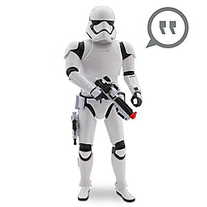 First Order Stormtrooper Talking Figure - 14'' - Star Wars: The Force Awakens