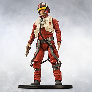 Poe Dameron Elite Series Die Cast Action Figure - 6 1/2 - Star Wars: The Force Awakens