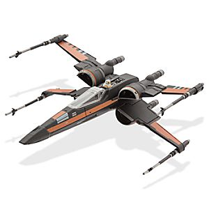Star Wars: The Force Awakens Poes X-Wing Fighter Die Cast Vehicle