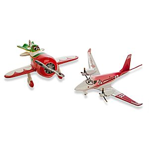 El Chu and Rochelle Die Cast Figures - Planes