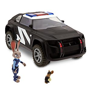 Judy Hopps Police Cruiser Deluxe Play Set - Zootopia