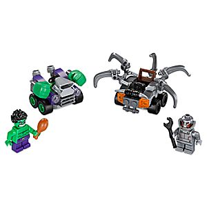 Mighty Micros: Hulk vs. Ultron Playset by LEGO