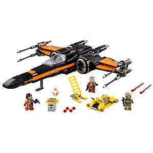 Poes X-Wing Fighter Playset by LEGO - Star Wars: The Force Awakens