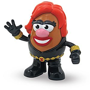 Black Widow Mrs. Potato Head Play Set - Collectors Edition