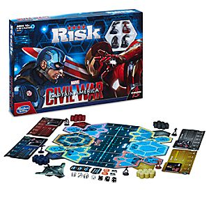 Risk Game - Captain America: Civil War Edition
