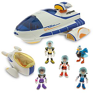 Miles from Tomorrowland Transforming Stellosphere Play Set