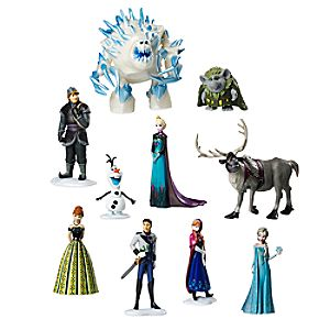 Frozen Deluxe Figure Play Set