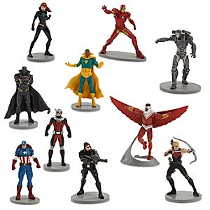 Marvels Avengers Deluxe Figure Set - Captain America: Civil War
