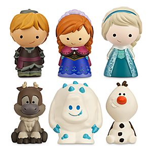 Frozen Bath Toy Set