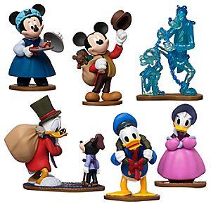Mickeys Christmas Carol Figure Play Set