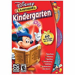 Disney Learning: Kindergarten CD-ROM