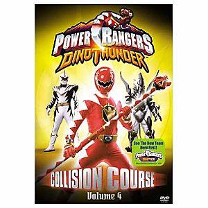 Power Rangers Dino Thunder: Collision Course Volume 4 DVD
