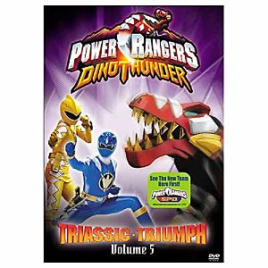 Power Rangers Dino Thunder: Triassic Triumph Volume 5 DVD