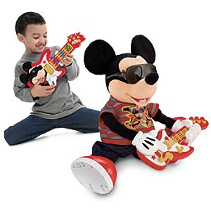 Dancing, Singing Rock Star Mickey Mouse Toy