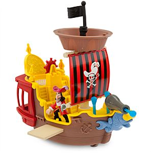 Hooks Jolly Roger Pirate Ship - Jake and the Never Land Pirates