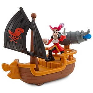Jake and the Never Land Pirates Hooks Battle Boat Play Set by Fisher-Price