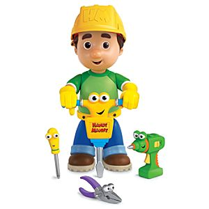 Handy Manny Lets Go to Work! Play Set