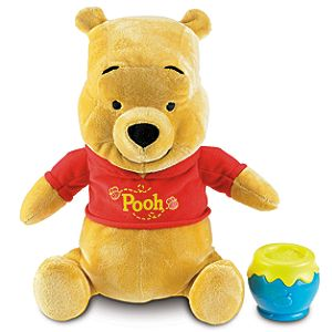 Rumbly Tummy Winnie the Pooh Plush Toy -- 12 1/2 H