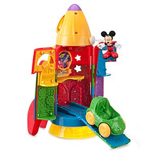 Mickey Mouse Clubhouse Mickeys Blast Off Rocket Play Set