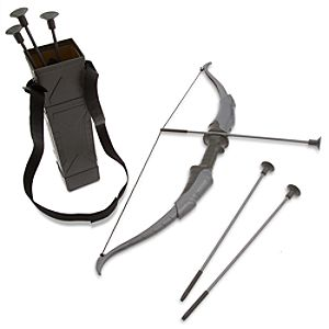 Hawkeye Deluxe Quiver with Collapsible Bow and Arrow Set