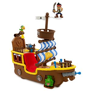 Jake and the Never Land Pirates Jakes Musical Pirate Ship Bucky Play Set