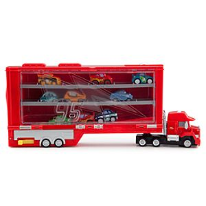 Cars Micro Drifters: Mack Transporter Rolling Display Case